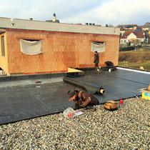 Flachdach Einfamilienhaus Stratzing