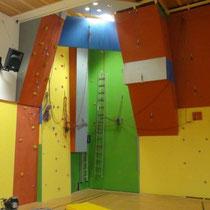 Kletterwand Sport- und Europamittelschule Mautern