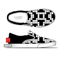 Bucketfeet - Crossword Slip-On
