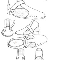 The Aero shoe design. 2011 Vein Wear Design winner!