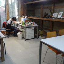 工房 作業風景