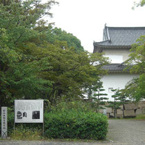 石山本願寺推定値 後ろの建物が六番櫓