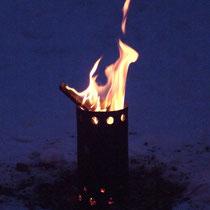 Feuer Hobo-Ofen