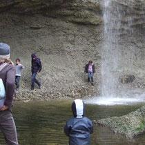Wasserfall erkunden