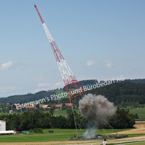 Sprengung kleiner Landessender vom 19.08.2011