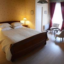 chambre Jehan des bois-lit- maison d'hôtes de la groie l'abbé