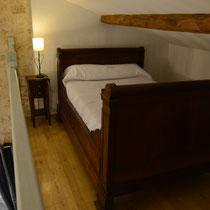 chambre vent de galerne- mezzanine - maison d'hôtes de la groie l'abbé