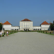 The castle of Nymphenburg