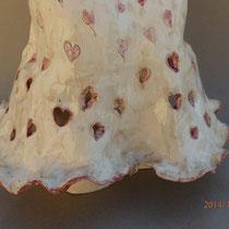 Douce, détail robe