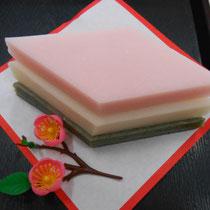 お子様の、桃の節句祝には、『いまやす』の菱餅がおすすめ 岐阜県美濃加茂市(中山道太田宿)