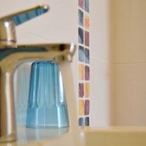 Bathroom details Onda Vicentina Algarve Portugal
