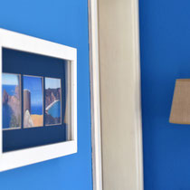 Detail in the bue room Onda Vicentina Algarve Portugal