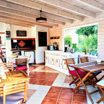 Breakfast room at Onda Vicentina Arrifana Portugal