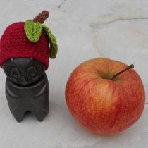 Apfel-Eule für Eva Cörper_I