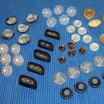 Ösenknöpfe und andere ausgefallene Knöpfe II