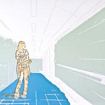 pleasure station droid ···2011···· 110x135cm