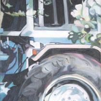 Ford im Frühling, Acryl auf Leinwand (verkauft)