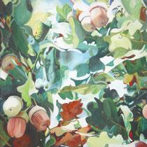 Herbst im Himmel, Acryl auf Leinwand (verkauft)