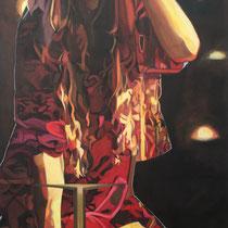 Erkenntnis, Acryl auf Leinwand, 60 cm x 90 cm, 2014 (verkauft)