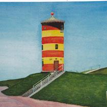 """Der """"Otto-Turm"""" in Pilsum-Greetsiel"""