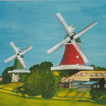 Zwillingsmühlen Greetsiel I