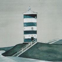 Der Otto-Turm in schwarz