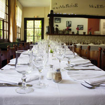 Les Moulins Banaux, salle de petit-déjeuner