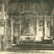 Intérieur de l'Eglise