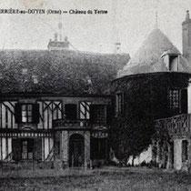 Chateau du Tertre autrefois résidence des seigneurs du lieu.