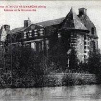 La Grimonière ( le chateau ) Madame veuve de Vollent acheta la propriété en 1858 pour en faire un orphelinat