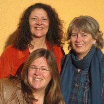 die Gründerinnen von Tausch & Plausch: v.l.n.r. Dagmar Gottschild, Lydia Hackenbroich und Heidi Fiedler-Schremmer