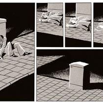 """Comic-Seite aus meiner Graphic Novel """"Vatermilch"""""""