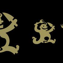 Logo-Design für Gasthaus - Kunde: Franzz - Icons für WC