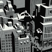 """Illustration für das Cover des """"Twelve"""" Magazins - Kunde: Serviceplan"""