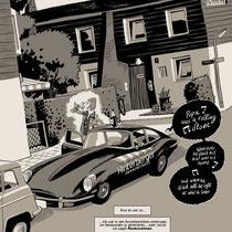 Comicseite aus aktuellem Graphicnovel Projekt - Vatermilch