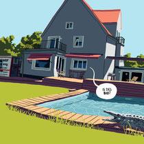 Portrait eines Hauses - Thema: Das Muffsche Anwesen - Kunde: Familie Muff