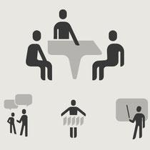 Icons für verschiedene Firmenbereiche - Kunde: SAP