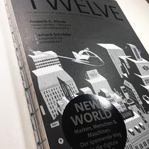 Illustrationen und Comics für die Titelseite des Image-Magazins TWELVE - Kunde: Serviceplan