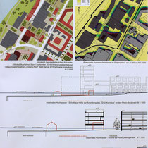 Städtebauliches und freiräumliches Konzept. Darstellungen zum städtebaulichen und freiraumplanerischen Konzept: Trint+ Kreuder mit KLA kiparlandschaftsarchitekten GmbH