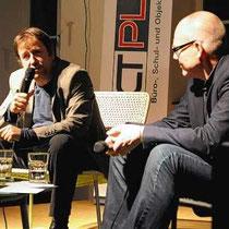 Georges Delnon, Regisseur, Theaterintendant und Hochschullehrer, (damals) Leiter Theater Basel