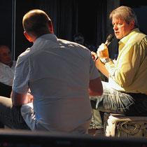 Aernschd Born, Sänger, Kabarettist und Autor