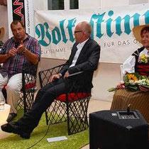 Ernst Schäpfer, Schwinger-Ikone, (damals) amtierender ESV-Obmann und 2-facher Schwingerkönig
