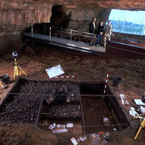 Ficticio: NeoCueva de Altamira:  Zona de Cata arqueológica