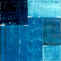 Le bleu - 38 x 46 cm
