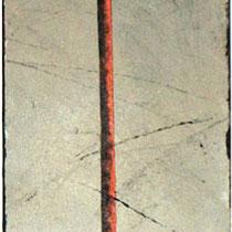 Poisson sur pied - 30 x 90 cm