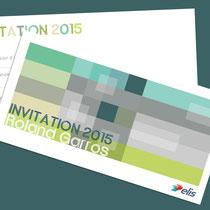 Invitation Roland Garros 2015