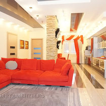ID 0438 Гризодубовой 4 к 3 - четырехкомнатная квартира в аренду на длительный срок!