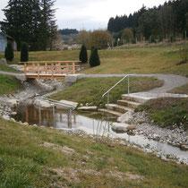 Kneippanlage in 87634 Günzach - zwischen Günzach und Aitrang - Aitranger Straße (Ostallgäu) (Quelle: Gemeinde Günzach)