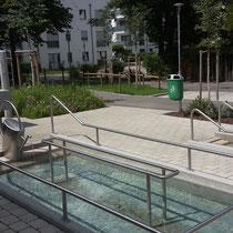 Kneippanlage - neue Turnhalle - Schulstraße (Foto S.Seidl)