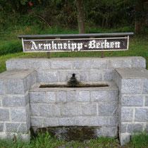Armbecken in 94239 Zachenberg-Triefenried (Foto: Stephan Pinzl)